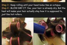 Makeup, hair & tips