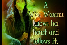 wise woman / by Audrey Sharp