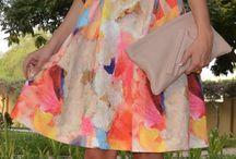 Vestidos midi florales
