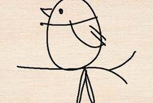 Bird tats