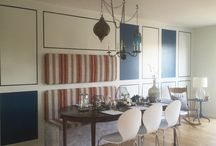 dinning room idea / dinning room ideas, table, design, deco,seat