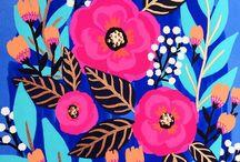 fondos arte flores