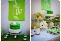 Pea in a Pod Baby Shower / by Candles & Favors