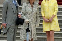 Royals at Buckingham Palace Garden Parties