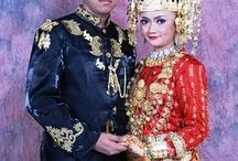 Coustums clothes ethniq tribels indonesia