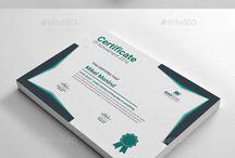 Graphics - certificate & tickets