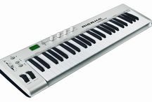 Musical Keybord / A musical keyboard is the set of adjacent depressible levers or keys on a musical instrument.