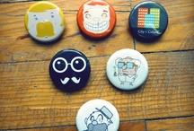 Button Pins / by Angela Choi