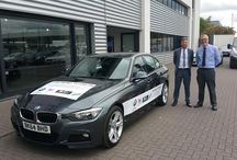 Promotional car livery completed