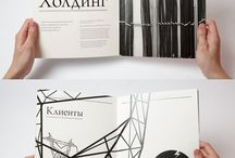 Brochures / Editorial design & brochures