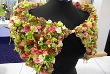 Botaniske blomster klær