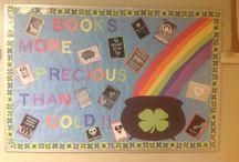 My bulletin boards / Classroom bulletin boards / by Ellen Burford