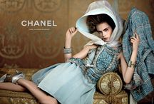 Cara Delevingne & Saskia de Brauw by Karl Lagerfeld for Chanel Cruise 2013