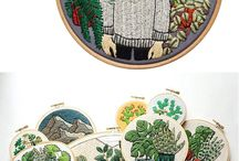 textile art and embroidery