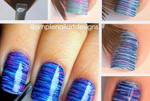 Nail Art / Inspiratie voor nail art. ~ Inspiration for nail art.