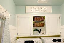 Laundry room / by Ashley Thomas