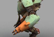 Mecha / Robotar och annat robotiskt