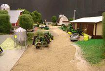 Model farm & Plant
