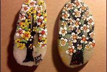 sassi dipinti/stone painted