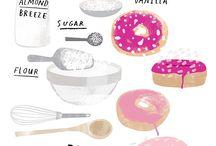 Zelfgemaakte Gebakken Donuts
