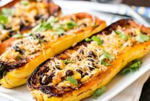 spaghetti squash recipes / Spaghetti squash is a great way to enjoy comfort food while laying off pasta,The easiest way to cook spaghetti squash recipes - bake it whole! Step by step recipes and photos.