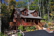 Banner Elk, North Carolina / These are cozy mountain villas are perfect for an outdoor lover! Check out this board for things to do while spending time in the North Carolina mountains!