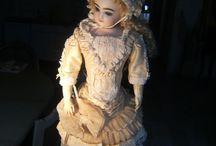 Pinterest / Antique doll and antique doll dress  on Rubylane.com