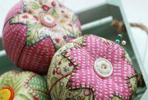 Tiny fabric & textil work