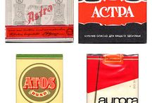 Cigarette packs and co.