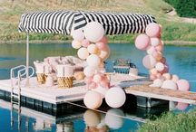 Bachelorette inspiration / Looking for stylish and fun bachelorette party ideas?  Plan an unforgettable and beautiful celebration for the bride to be.