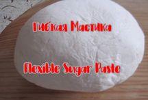 Flexible flover paste