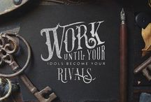 Lettering & Callygraphy