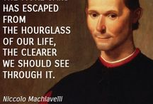 "Machiavelli / Born on May 3, 1469, in Florence, Italy, Niccolò Machiavelli was a diplomat for 14 years in Italy's Florentine Republic during the Medici family's exile. When the Medici family returned to power in 1512, Machiavelli was dismissed and briefly jailed. He then wrote The Prince, a handbook for politicians on the use of ruthless, self-serving cunning, inspiring the term ""Machiavellian"" and establishing Machiavelli as the ""father of modern political theory."""