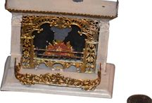 Miniature fireplaces/ stoves