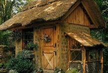 Play-house, fort, garden-sheds