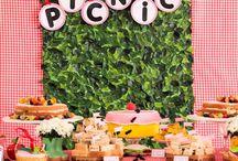 Picnic / Decoración para fiestas Picnic