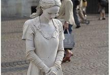 Beautiful artwork / Living statues