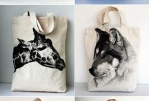 Animales screenprinting stuffffs
