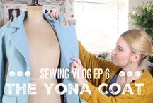 Sewing Vlogs / A lovely collection of Sewing vlogs both from me and over fantastic vloggers within the Sewing community