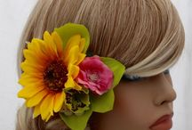 Rockabilly Hair Accessories / Complete your look with a oversize rockabilly pin up hair accessory