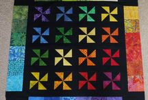 Quilts-pinwheels / by Carole Holly