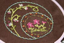 doodle stitching and embroidery / embroidery and doodle stitching
