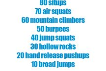 Workouts / by Arleigh Greenwald