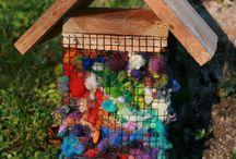 Créative au jardin