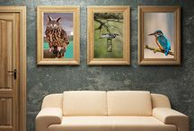 New Wall Frame Collection Mockup
