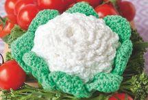 légumes au crochet
