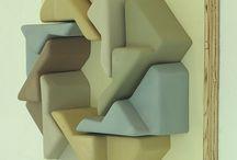 ceramics cast sculpture forms