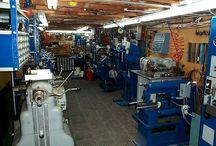 Machine shop set up