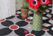 MatériO - Parquet, tiles, metal... I ♡ / Matériaux déco pour la maison - sols et murs.