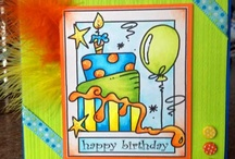 Bugaboo Inspiration gallery / cards made using Bugaboo digi stamps